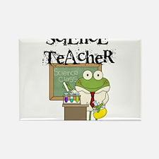 Frog Science Teacher Rectangle Magnet