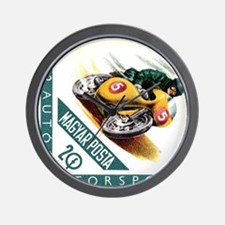 1962 Hungary Motorcycle Racing Postage Stamp Wall