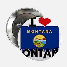 "I HEART MONTANA FLAG 2.25"" Button"