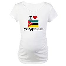 I HEART MOZAMBIQUE FLAG Shirt