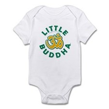 Little Buddha Yoga Symbol Baby Rompers White