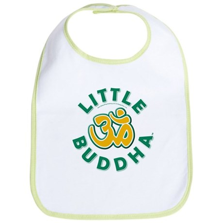 Little Buddha Yoga Symbol Baby Yoga Clothes Bib U by