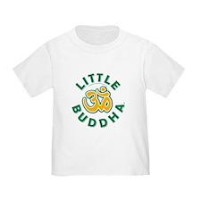 Little Buddha Yoga Symbol Baby T Shirts Unisex