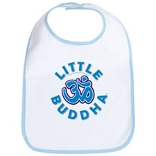Little Buddha Yoga Symbol Baby Yoga Clothes Bib BL