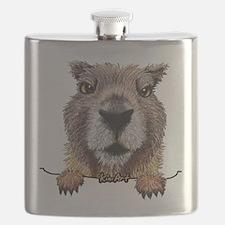 Yellow-bellied Marmot Flask