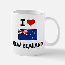 I HEART NEW ZEALAND FLAG Mug