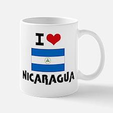 I HEART NICARAGUA FLAG Mug