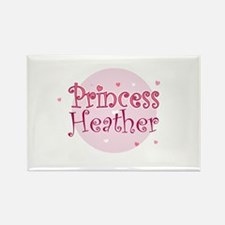 Heather Rectangle Magnet