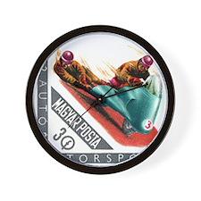 1962 Hungary Motorcycle Sidecar Racing Stamp Wall