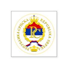 Srpska Flag Sticker