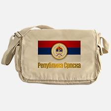 Srpska Flag Messenger Bag