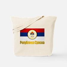 Srpska Flag Tote Bag