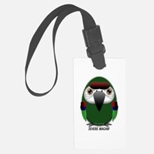 Severe Macaw Luggage Tag