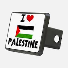 I HEART PALESTINE FLAG Hitch Cover