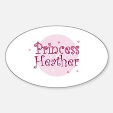 Heather Oval Decal