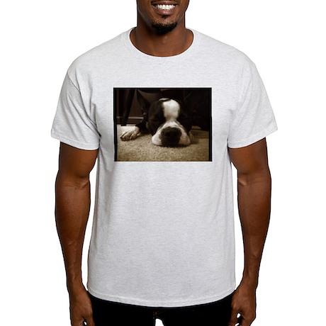 Sleeping boston T-Shirt