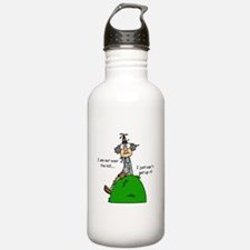 Funny Old People Over the Hill Water Bottle
