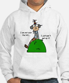 Funny Old People Over the Hill Hoodie