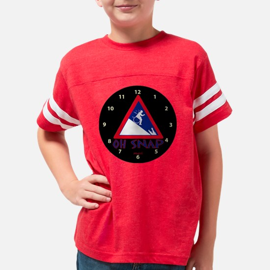 clock1 Youth Football Shirt