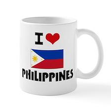 I HEART PHILIPPINES FLAG Small Mug