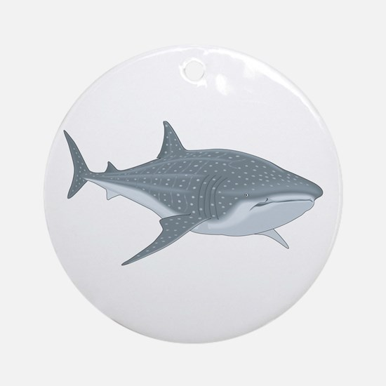Whale Shark Ornament (Round)