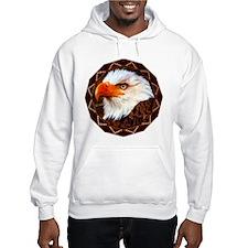 Geometric Bald Eagle Hoodie