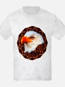 Geometric Bald Eagle T-Shirt