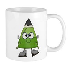Candy Corn Halloween Frankenstein Mug