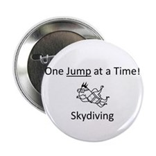 """One Jump at a Time! 2.25"""" Button"""