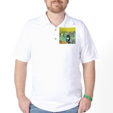 Irises & Cat T-Shirt