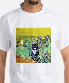 Irises & Cat Shirt