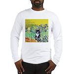 Irises & Cat Long Sleeve T-Shirt