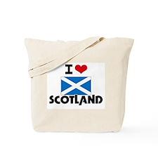 I HEART SCOTLAND FLAG Tote Bag