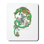 Green Dragon Mousepad