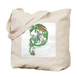 Green Dragon Tote Bag