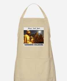 Sandbox Soldiers BBQ Apron