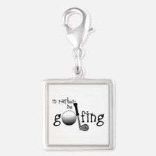 Id Rather Be Golfing Charms