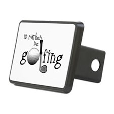 Id Rather Be Golfing Hitch Cover