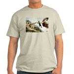 God Creates Cats Ash Grey T-Shirt