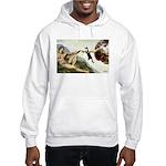 God Creates Cats Hooded Sweatshirt