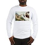 God Creates Cats Long Sleeve T-Shirt