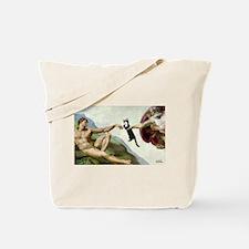 God Creates Cats Tote Bag