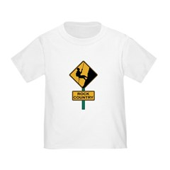 Rock Country Road Sign T