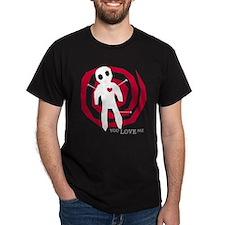 Cute Valentine voodoo doll T-Shirt