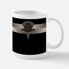 Black and Bronze Art Deco Tower ld Mug