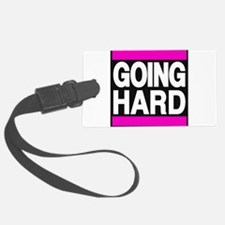 going hard pink Luggage Tag