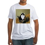 Vincent's Shoes & Kitty Fitted T-Shirt