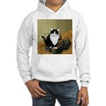 Vincent's Shoes & Kitty Hooded Sweatshirt