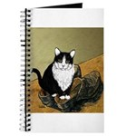 Vincent's Shoes & Kitty Journal