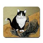 Vincent's Shoes & Kitty Mousepad